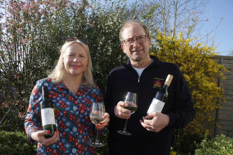 Heather Williamson and Richard Baker, Co-owners of Foxbury Fields Vineyard. Wye Life